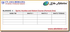 atletik kit, Formula One, kid atletik, kids athletics, lomba lari kid atletik, peralatan atletik kid, peralatan olahraga anak, sport kid, Sprint Hurdles and Slalom Course